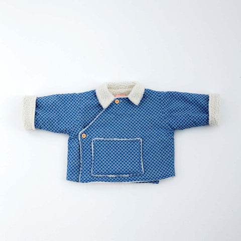French Baby Pullover Sweater- Blue