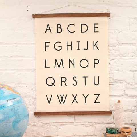 Wall Art- Alphabet