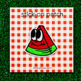 Beautiful Days Watermelon Wedge Stick-On Patch