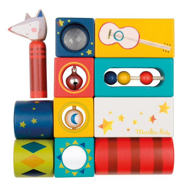 Les Zig Et Zag Activity Cubes