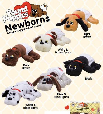Pound Puppies Newborn- Assorted