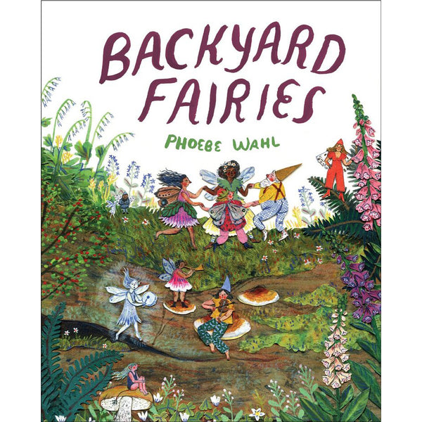 Backyard Fairies Book By Phoebe Wahl