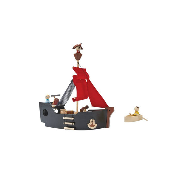 Wooden Pirate Ship Set