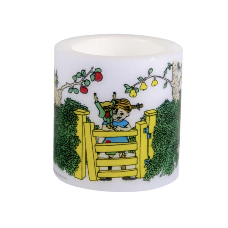 Pippi Longstocking Wax Candle