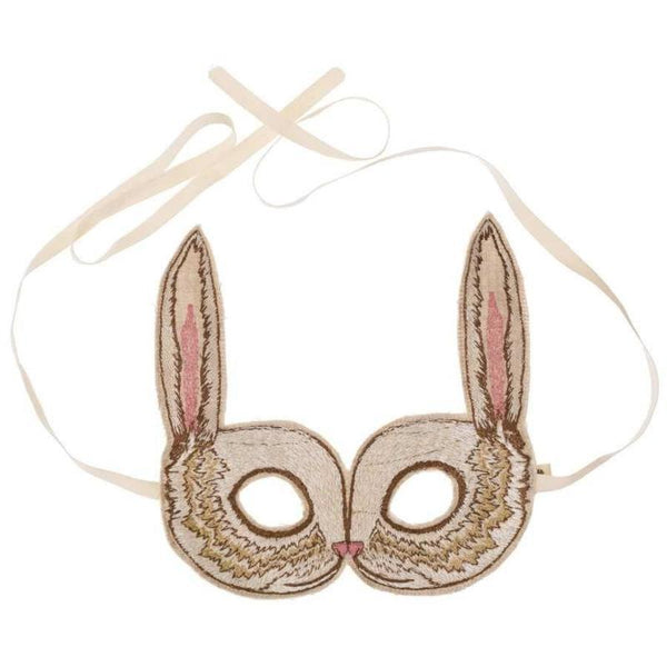 Embroidered Masks: Bunny