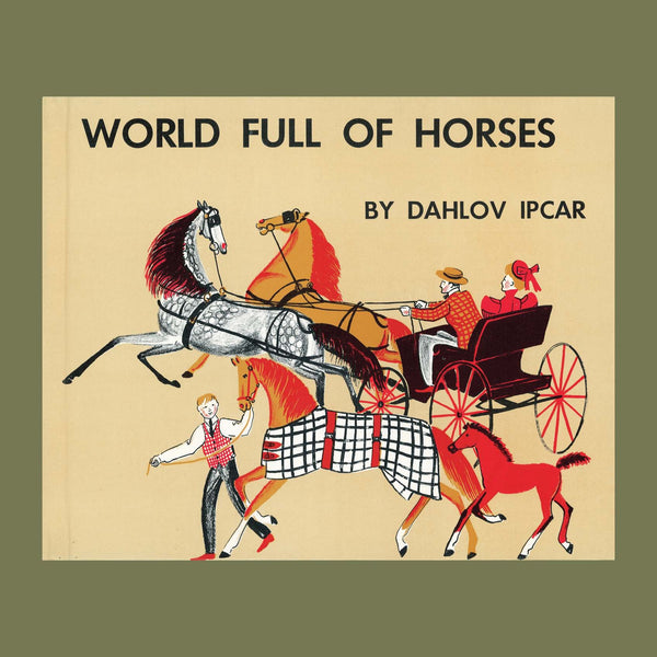 World Full of Horses Book