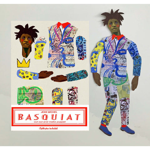 Artist Paper Doll Kit: Basquiat