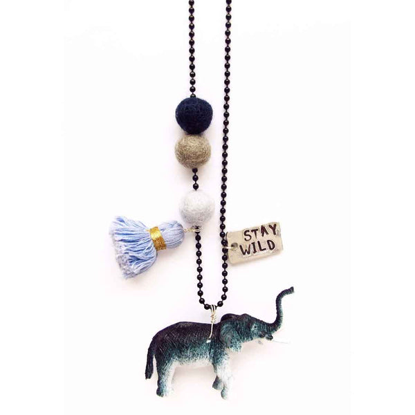 Animal Buddy: Eli the Elephant Necklace