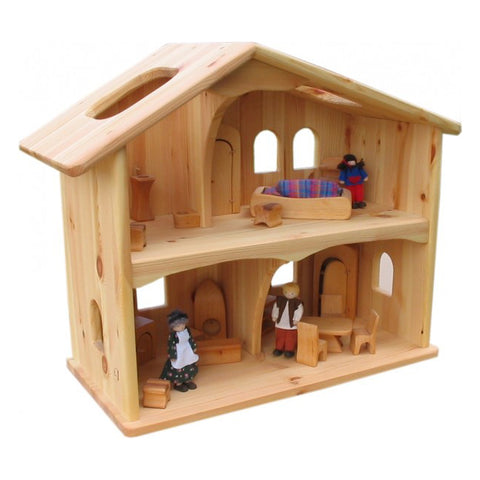 Wooden Waldorf Dollhouse