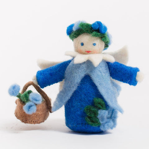 Blue Belle Fairy Felt Ornament