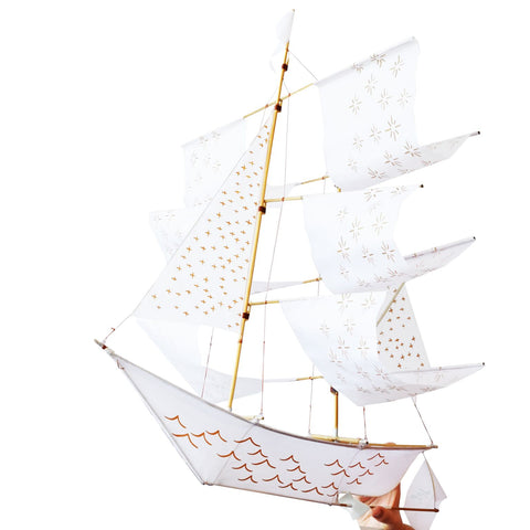 Sailing ship Kite- White Limited Edition