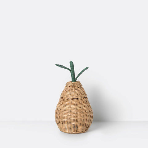 Braided Basket- Pear Small