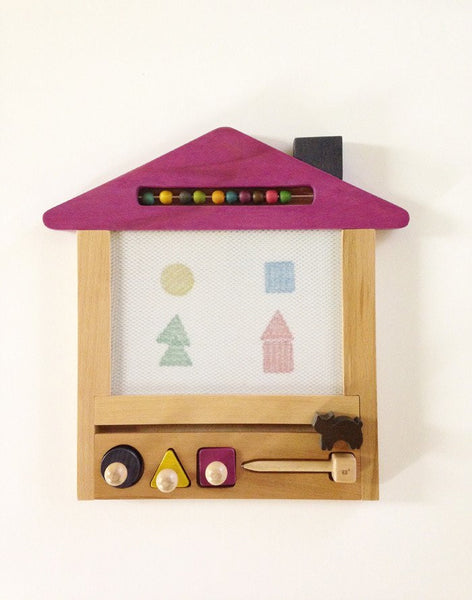 Oekaki Cat House- Magical Drawing Board with Tote Bag