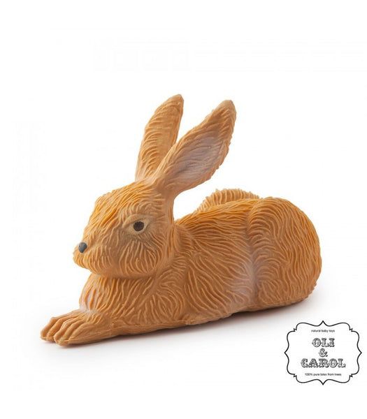 Gilbert the Rubber Bunny Toy