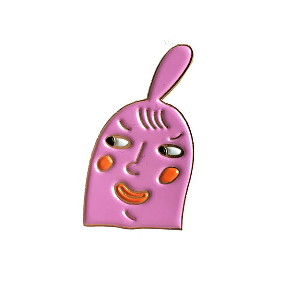 Gentle Thrills Pink Head Pin