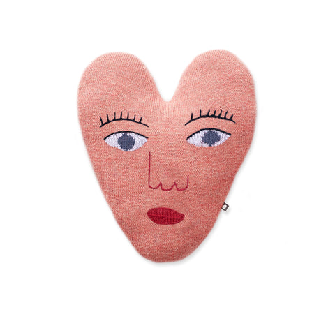 Heart Pillow- Pink