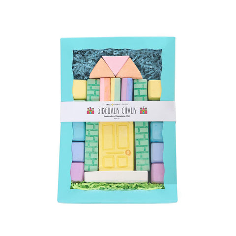 Carrie's Castle Sidewalk Chalk Set