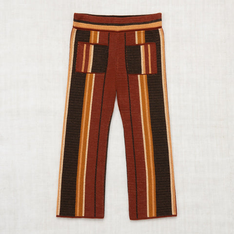 Kingston Trousers- Black Walnut Stripe