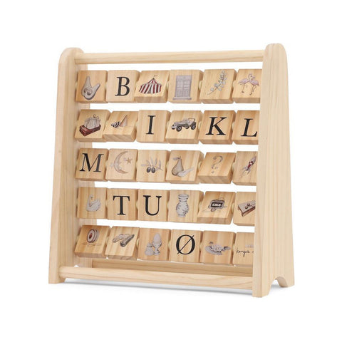 Wooden ABC Block Frame Toy