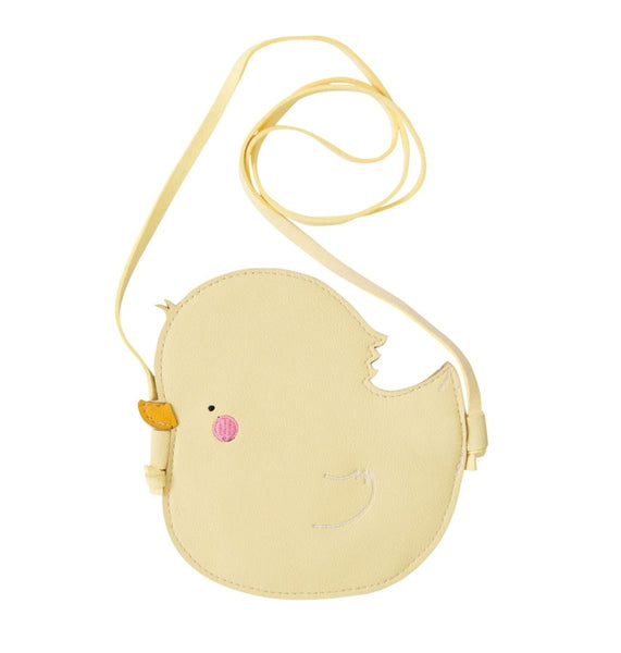 Yellow Duck Pouch Bag