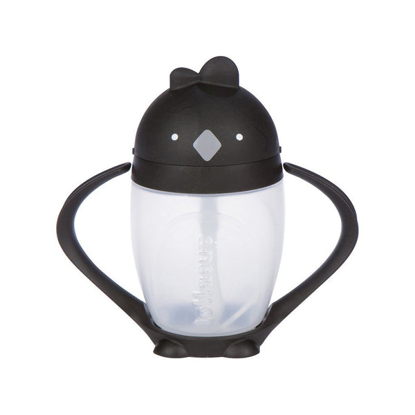Lollacup- Straw Sippy Cup Black