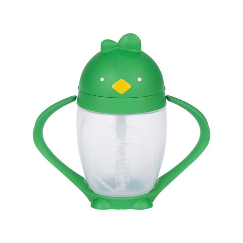Lollacup- Straw Sippy Cup Green