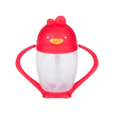 Lollacup- Straw Sippy Cup Red