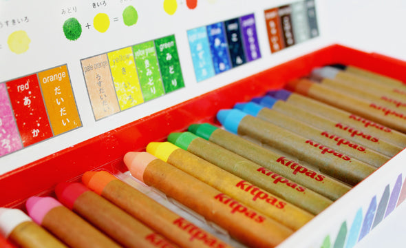 Japanese Kitpas Crayon Set- Medium 16pcs