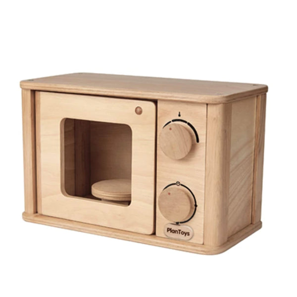 Wooden Microwave Toy