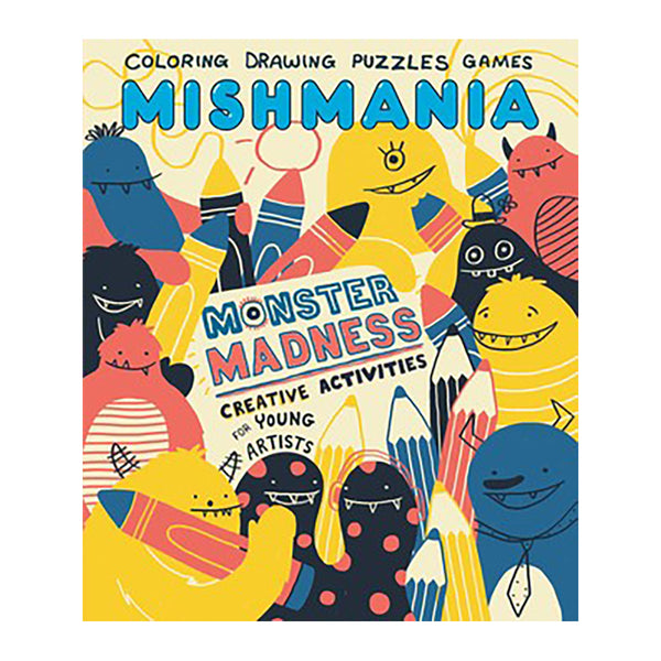 Mishmania Activity Books: Monster Madness