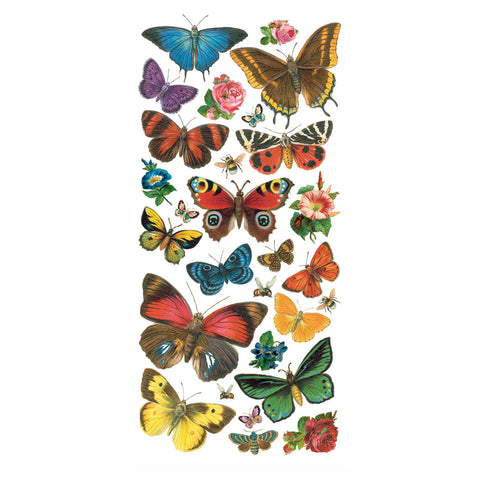 Forest Butterflies Stickers