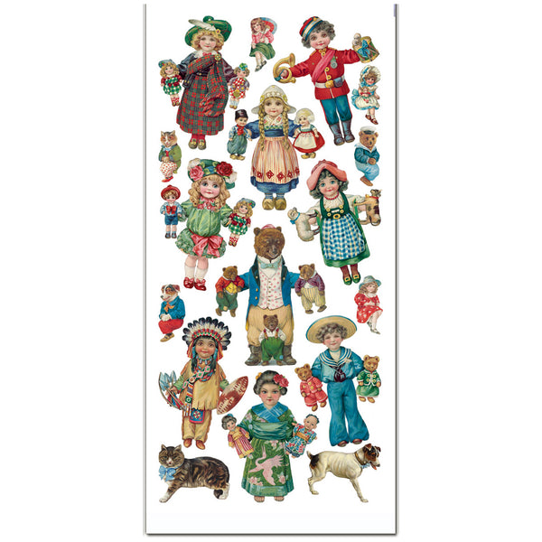 Classic Dolls Stickers