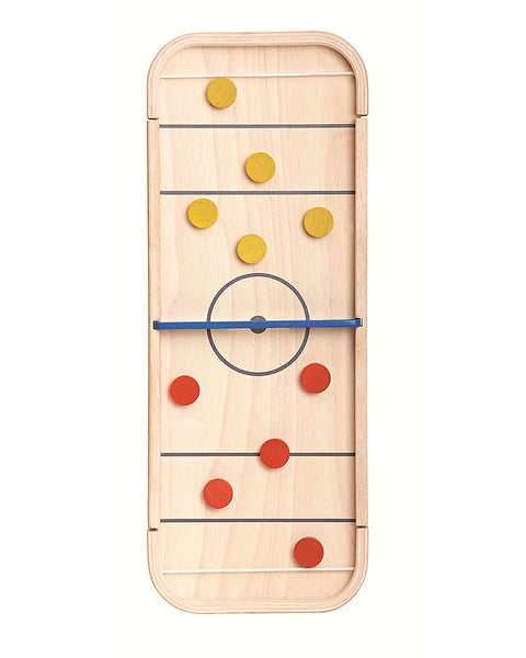 Wooden Shuffleboard Toy