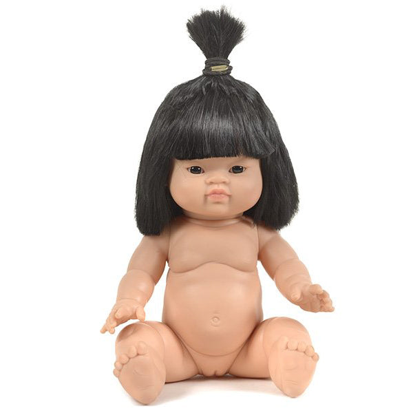 French Baby Girl Doll- Jade