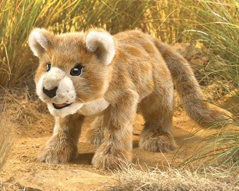 Heirloom Puppets: Lion Cub