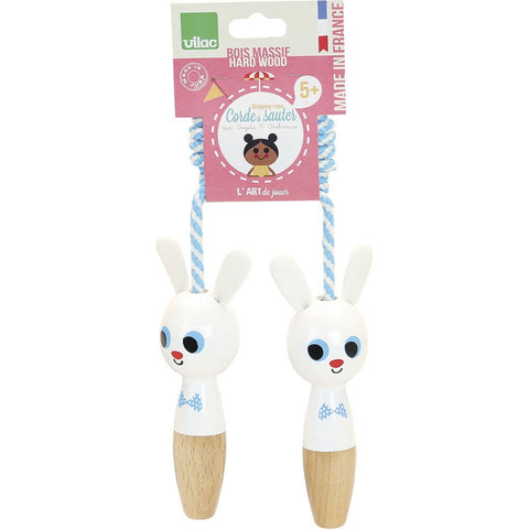 Rabbit Wooden Skipping Rope