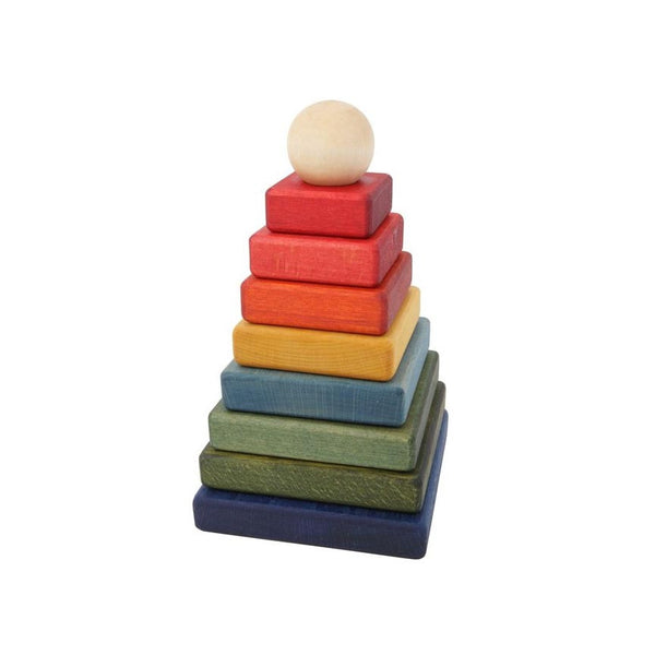 Wooden Story Square Rainbow Stacker