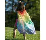 Rainbow Playsilk Cape
