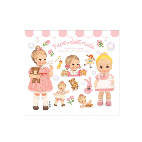 Paper Doll Mate Sticker Pack-#3