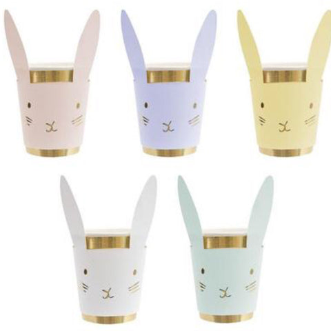 Pastel Bunny Cups Set
