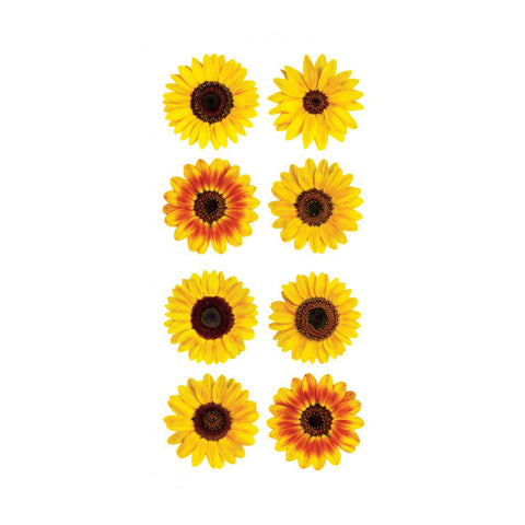 Mini Sunflower Stickers