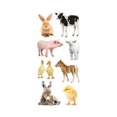 Barnyard Animals Stickers