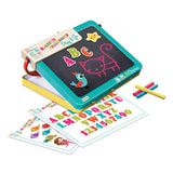 Magnetic Chalkboard Play and Go Alphabet Set