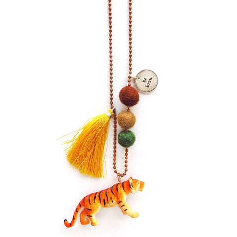 Animal Buddy: Taylor the Tiger Necklace
