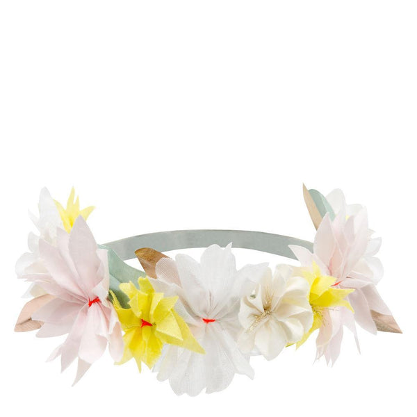 Fabric Blossom Headband