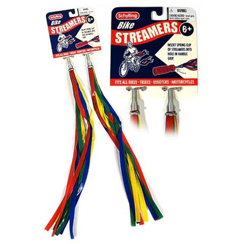 Retro Bike Streamers Set