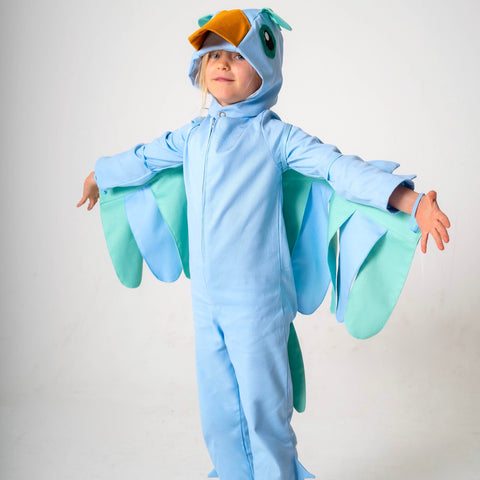 Bird Costume- Blue