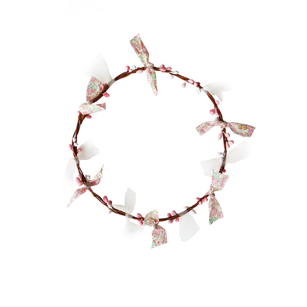 Flower Crown- Pink and Gold
