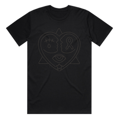 American Love Story LIVE & QUARANTINED Puff Ink Tee