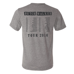 Grey Stay Gold Tour Tee